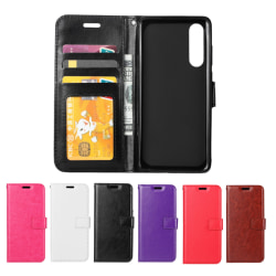 Huawei P30 - Plånboksfodral - Välj Färg! Svart