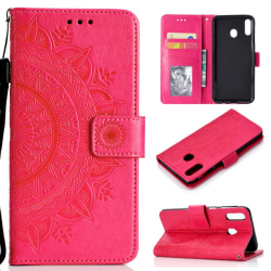 Huawei P40 Lite E - Mandala Plånboksfodral - Rosa