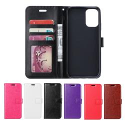 Huawei P40 - Plånboksfodral - Välj Färg! Röd