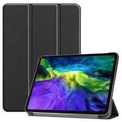 iPad Air (2020) / Pro 11 - Tri-Fold Fodral - Svart Black Svart