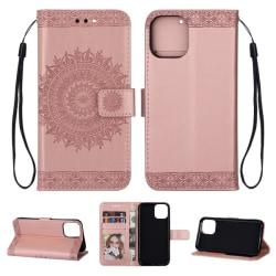 iPhone 11 - Mandala Plånboksfodral - Roséguld