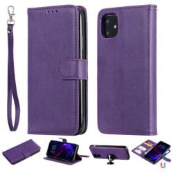 iPhone 11 - Plånboksfodral/Magnet Skal 2in1 - Lila