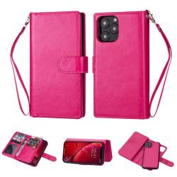 iPhone 11 Pro - 9 korts plånboksfodral/Magnet Skal - Rosa