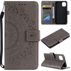 iPhone 11 Pro Max - Mandala Plånboksfodral - Grå