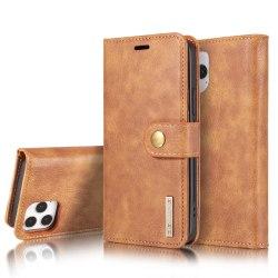 iPhone 12 / 12 Pro - DG.MING Fodral/Magnet Skal - Brun