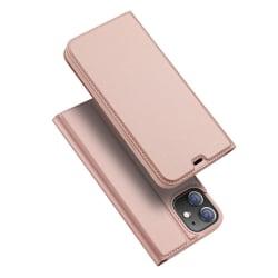 iPhone 12 / 12 Pro - DUX DUCIS Skin Pro Fodral - Roséguld