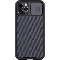iPhone 12 / 12 Pro - NILLKIN CamShield Skal - Svart