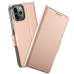 iPhone 12 / 12 Pro - Skin Touch Fodral - Roséguld