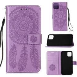 iPhone 12 Mini - Dream Catcher Fodral - Lila Purple Lila