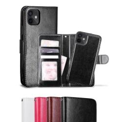 iPhone 12 Mini - Fodral / Magnet Skal 2in1 - Välj Färg! Svart