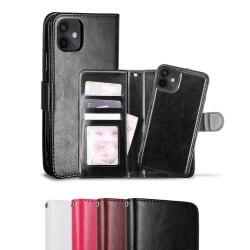 iPhone 12 Mini - Fodral / Magnet Skal 2in1 - Välj Färg! Black Svart