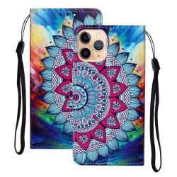 iPhone 12 Mini - Fodral Med Tryck - Mandala Blomma