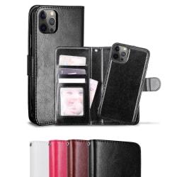 iPhone 12 / 12 Pro - Fodral / Magnet Skal - Välj Färg! Svart