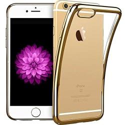 iPhone 5/5S/SE - Färgad TPU - Guld