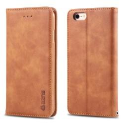 iPhone 6/6S - AZNS Retro Flip Fodral - Brun
