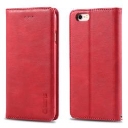 iPhone 6/6S - AZNS Retro Flip Fodral - Röd