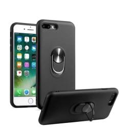 iPhone 7/8 Plus - Hybrid Ring Skal - Svart