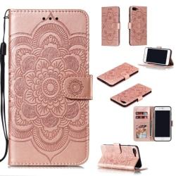 iPhone 7/8 Plus - Mandala Plånboksfodral - Roséguld