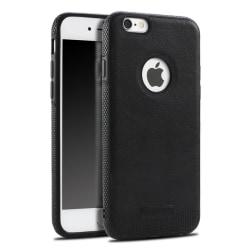 iPhone 7/8 Plus - Mikki PU Läder Skal - Svart