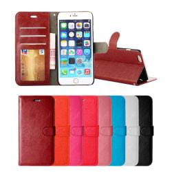 iPhone 7/8/SE (2020) - Plånboksfodral - Välj Färg! Svart