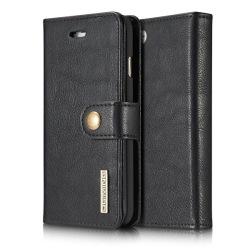 iPhone SE (2020) - DG.MING Magnetskal/Plånboksfodral