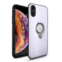 iPhone Xs Max - Ring Skal - Silver Silver Silver