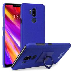 LG G7 ThinQ - IMAK Ring Skal - Blå