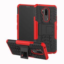 LG G7 ThinQ - Ultimata stöttåliga skalet med stöd - Röd