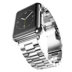 Lyxigt Metallarmband Apple Watch 42/44 mm - Silver