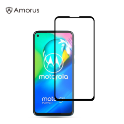 Motorola Moto G8 Power - AMORUS Heltäckande Härdat Glas