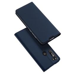 Motorola Moto G8 Power - DUX DUCIS Plånboksfodral - Blå