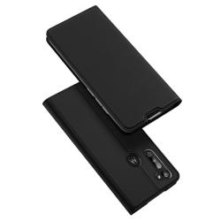 Motorola Moto G8 Power - DUX DUCIS Plånboksfodral - Svart