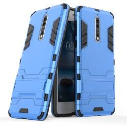 Nokia 8 - Armour Skal - Blå
