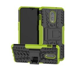 OnePlus 6T - Ultimata stöttåliga skalet med stöd - Grön