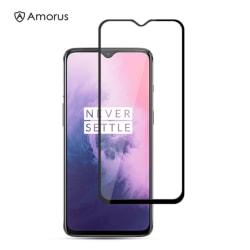 OnePlus 7 - AMORUS Härdat glas - Heltäckande