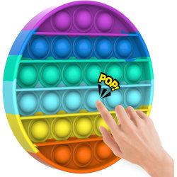 Regnbåge - Rainbow - Pop It Fidget Toy