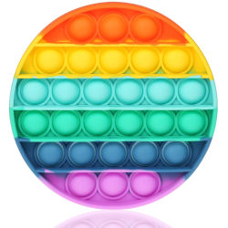 Regnbåge - Rainbow - Pop It Fidget Toy - Pride