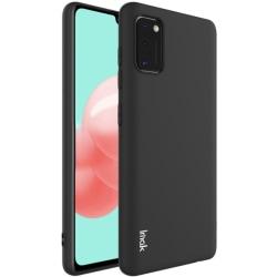 Samsung Galaxy A41 - IMAK Matt TPU Skal - Svart