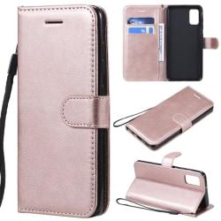 Samsung Galaxy A41 - Plånboksfodral - Roséguld