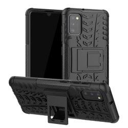 Samsung Galaxy A41 - Ultimata Stöttåliga Skalet med Stöd - Svart