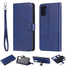 Samsung Galaxy A51 - 2in1 Magnet Skal/Plånboksfodral - Mörk Blå