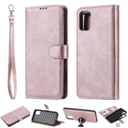 Samsung Galaxy A51 - 2in1 Magnet Skal/Plånboksfodral - Roséguld