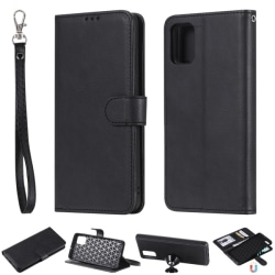 Samsung Galaxy A51 - 2in1 Magnet Skal / Plånboksfodral - Svart