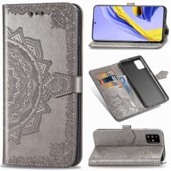Samsung Galaxy A51 - Mandala Plånboksfodral - Grå