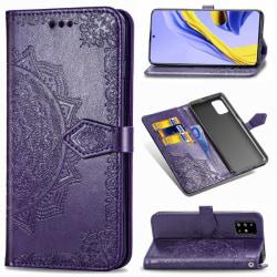 Samsung Galaxy A51 - Mandala Plånboksfodral - Lila