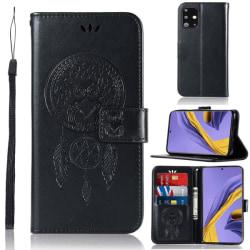 Samsung Galaxy A51 - Owl Dream Catcher - Svart