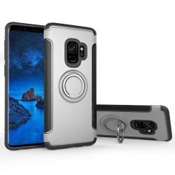 Samsung Galaxy A6 - Ring Skal - Silver Silver Silver