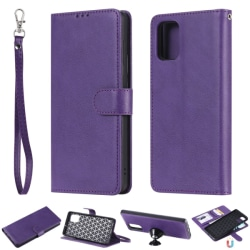 Samsung Galaxy A71 - 2in1 Magnet Skal / Plånboksfodral - Lila