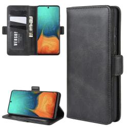 Samsung Galaxy A71 - Plånboksfodral - Svart