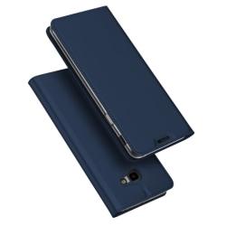 Samsung Galaxy J4 Plus - DUX DUCIS Plånboksfodral - Mörk Blå
